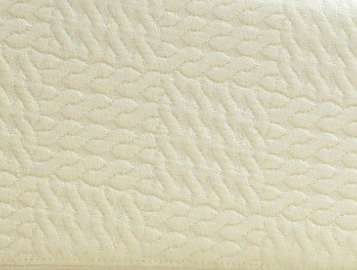 Solid-color pique upholstery fabric PAUSE by LELIEVRE