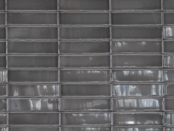 Indoor ceramic materials wall tiles ceramica grigio scuro by
