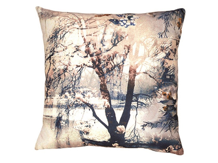 Square cushion DÉLICE by LELIEVRE