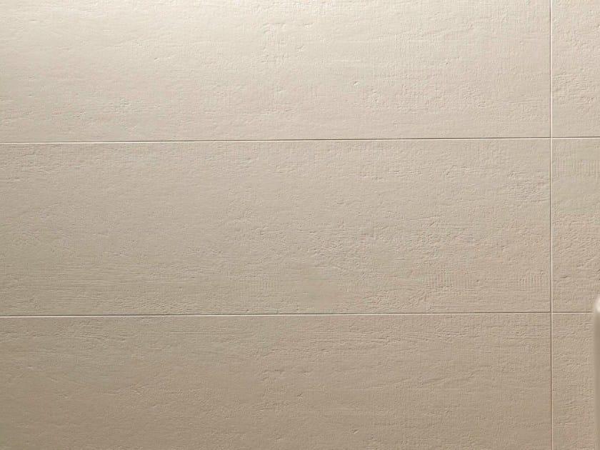 Porcelain stoneware wall tiles FLOW BONE by MUTINA