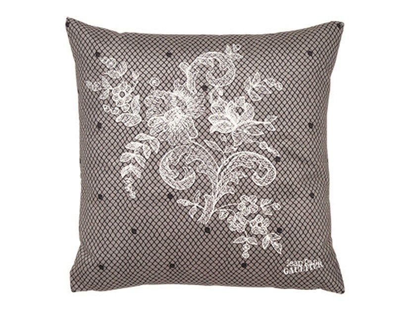 Square cushion COUSSIN  DISCRET by LELIEVRE