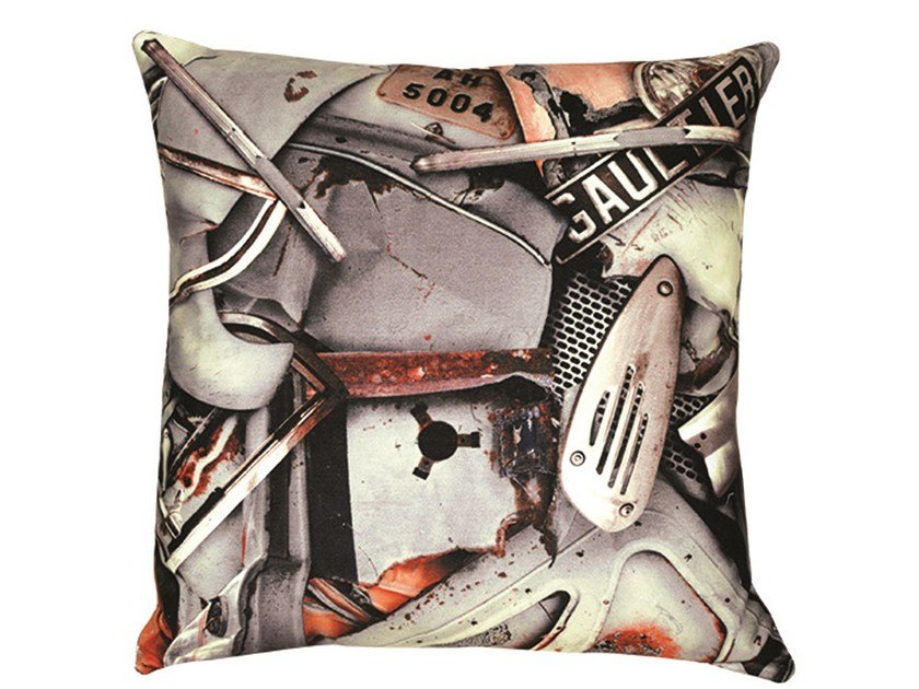 Square cushion FURIES by LELIEVRE