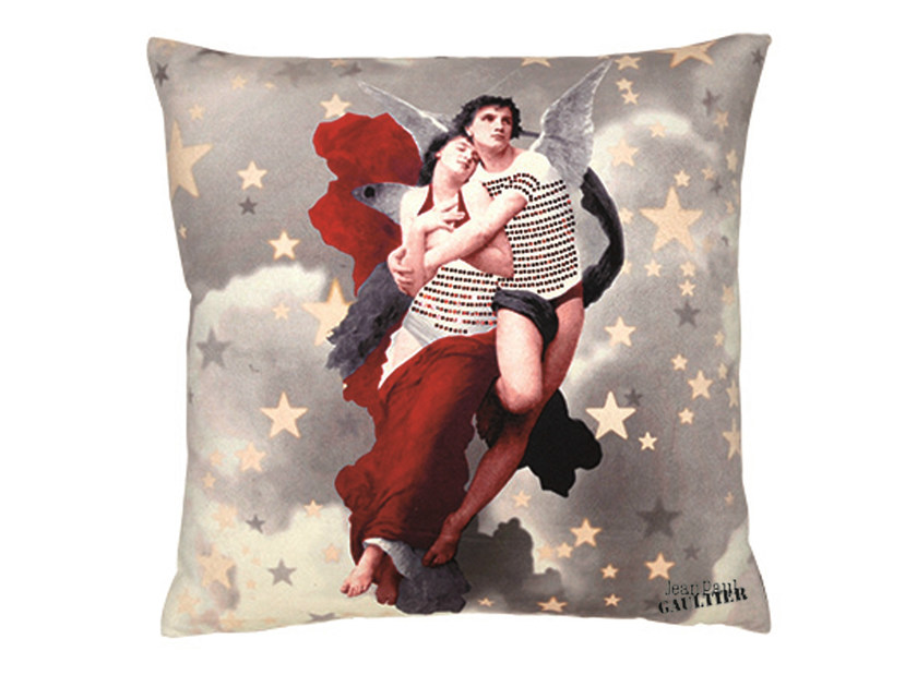 Square cushion COUPLE by LELIEVRE