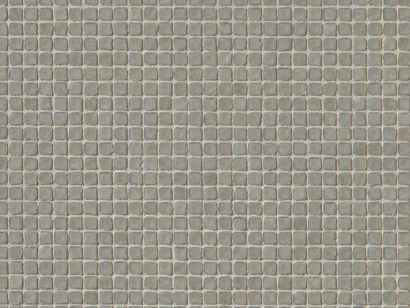 Porcelain stoneware mosaic DECHIRER GLASS GRIGIO by MUTINA