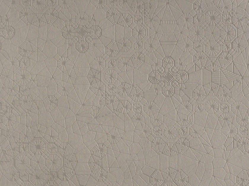Indoor/outdoor porcelain stoneware wall/floor tiles DECHIRER (LA SUITE) NET CEMENTO by MUTINA