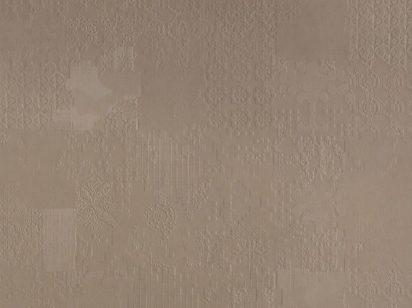 Indoor porcelain stoneware wall/floor tiles DECHIRER DECOR ECRU' by MUTINA