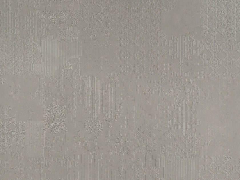Indoor porcelain stoneware wall/floor tiles DECHIRER DECOR GRIGIO by MUTINA