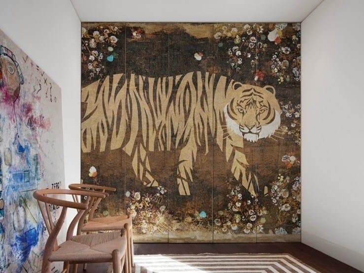 Nonwoven wallpaper BENGALI by Wall&decò