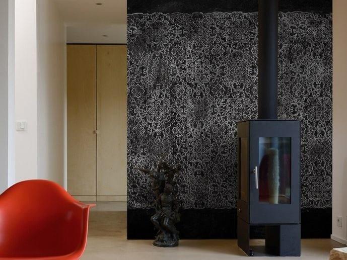 Motif wallpaper B&W by Wall&decò