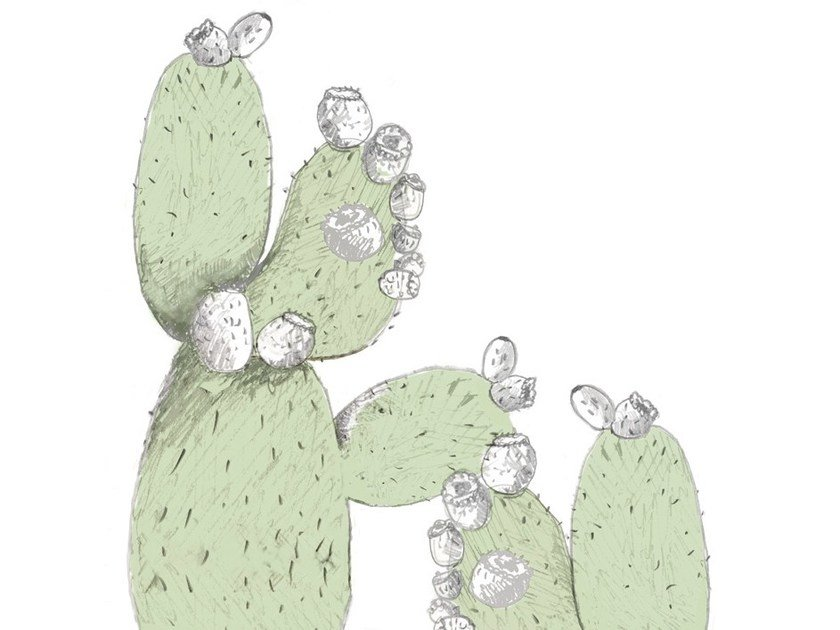 Nonwoven wallpaper CACTUS JUICE by Wall&decò