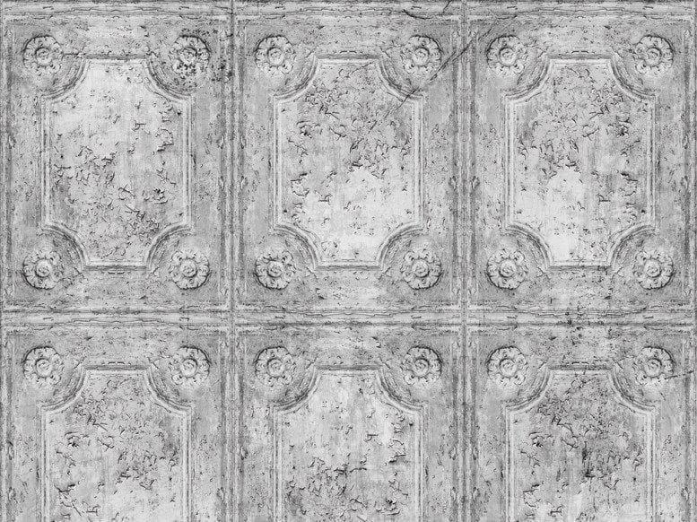 Wall effect vinyl wallpaper CRUST by Wall&decò