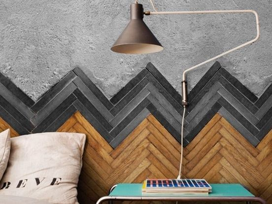 Wall effect wallpaper FLOOR by Wall&decò