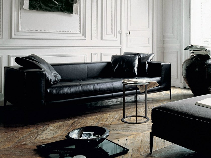 Bon Leather Sofa SIMPLEX | Leather Sofa By Maxalto