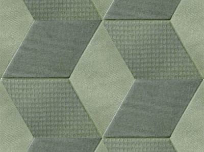Indoor porcelain stoneware wall/floor tiles TEX OLIVE by MUTINA