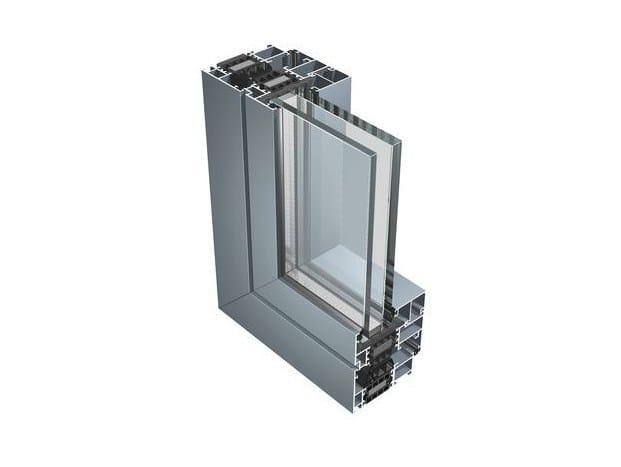 Thermal break window 77 IW by ALUK Group