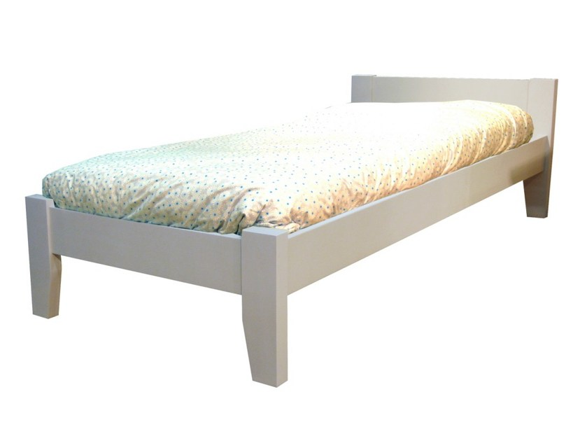 Wooden single bed TILLEUL | Single bed by Mathy by Bols