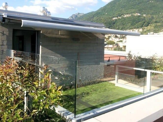 Parapetto in alluminio e vetro BELLAVISTA SYSTEM | Parapetto by GM MORANDO