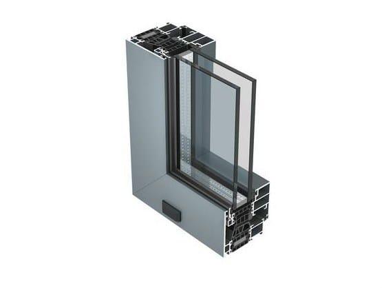 Aluminium thermal break window 77 IS by ALUK Group