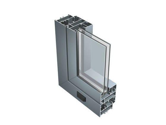 Aluminium double glazed window 55 N by ALUK Group
