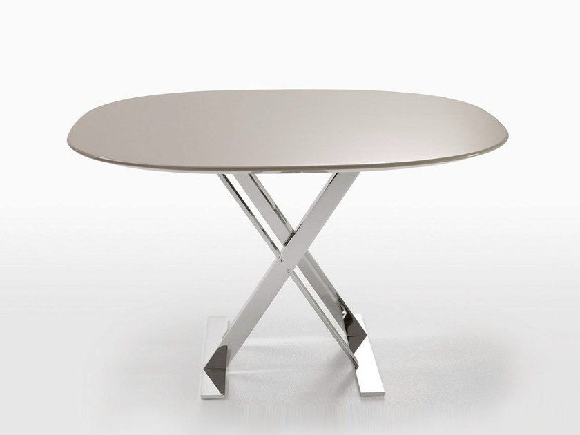 Square MDF table PATHOS | MDF table by Maxalto