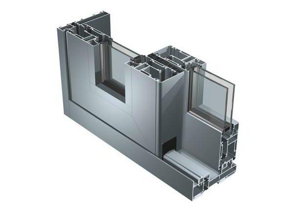 Aluminium patio door SC 140 TT by ALUK Group