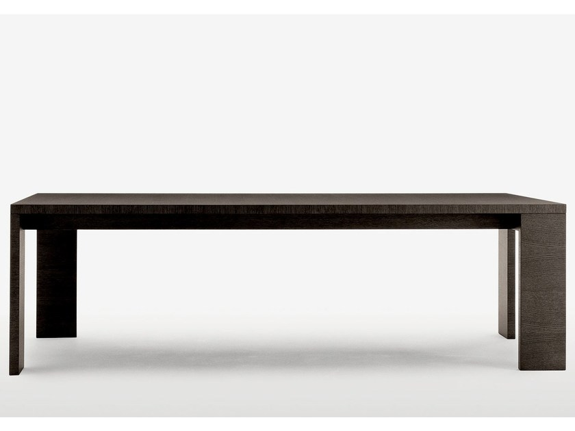 Rectangular wooden table ALCEO by Maxalto