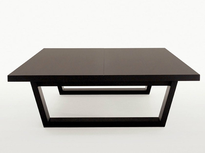 Square solid wood coffee table XILOS | Square coffee table by Maxalto