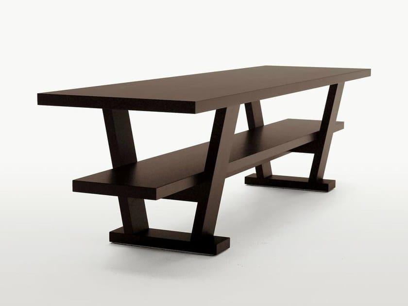 Wooden console table / writing desk CICERO by Maxalto