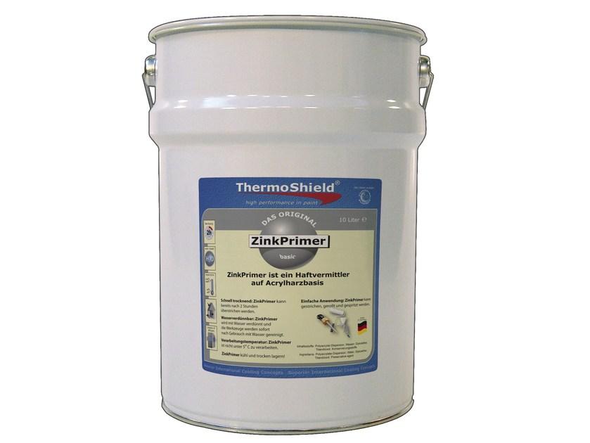 Liquid primer for interior and exterior ThermoShield ZinkPrimer by TECNOVA GROUP®