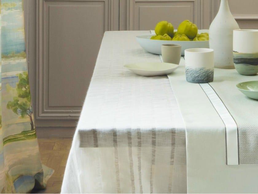 Handmade linen fabric INDISCRET by Zimmer + Rohde