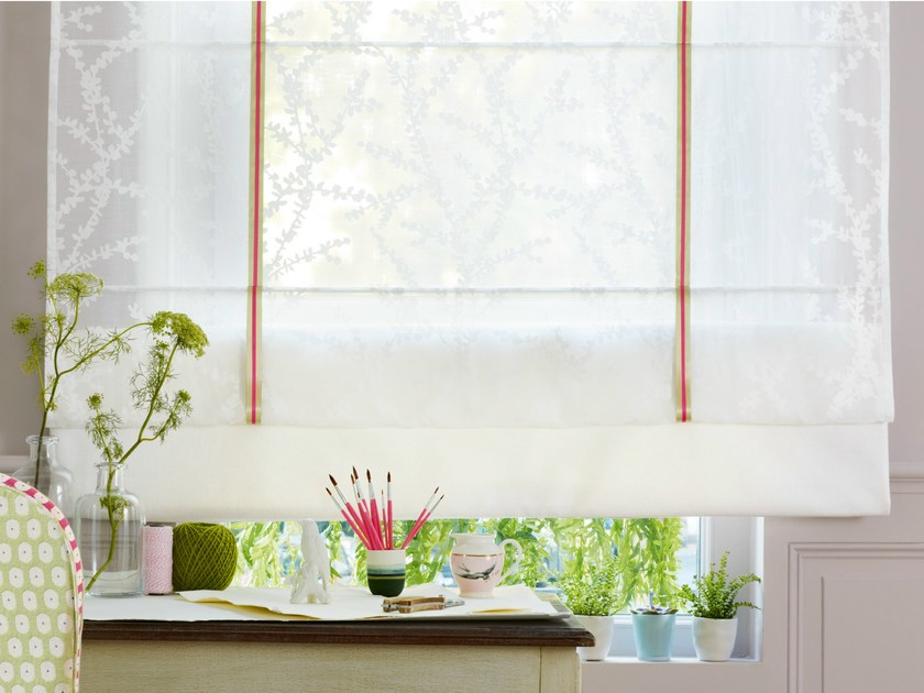 Polyester fabric for curtains SIESTE by Zimmer + Rohde