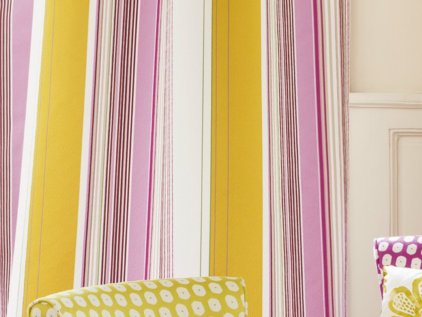 Striped fabric for curtains CASCADE | Fabric for curtains by Zimmer + Rohde