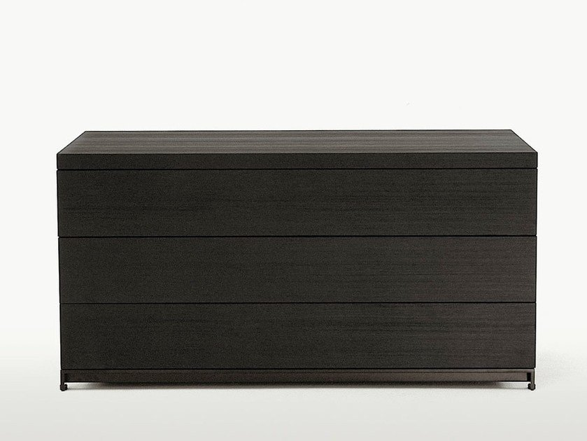 Wooden chest of drawers MIDA   Chest of drawers by Maxalto