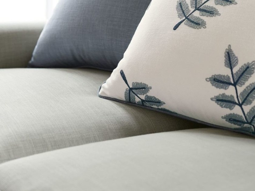 Cotton upholstery fabric ROCINA STRIE by Zimmer + Rohde