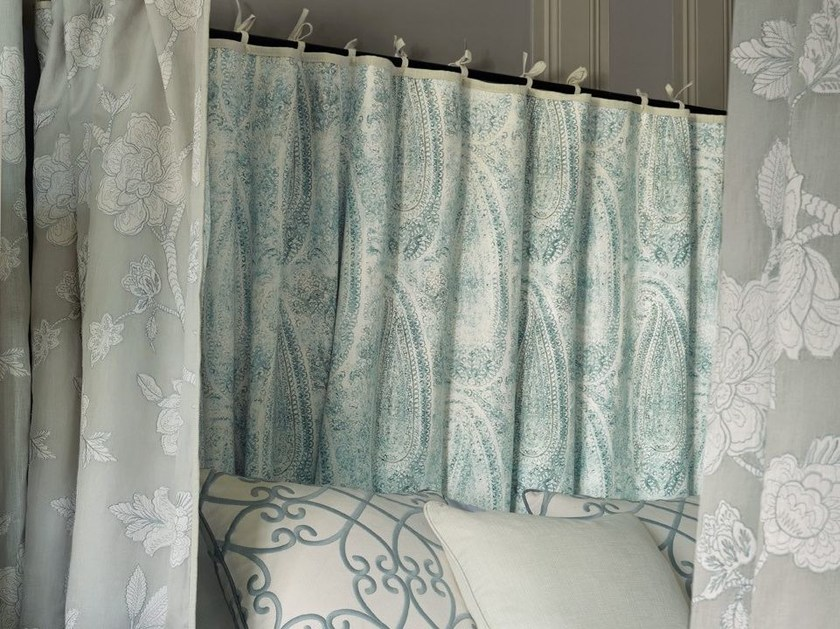 Printed linen fabric WIND SONG by Zimmer + Rohde