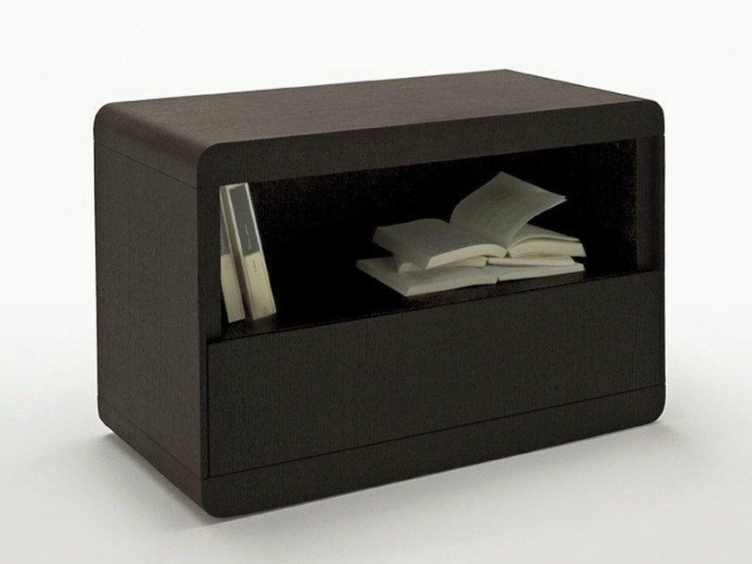 Rectangular bedside table with drawers HYPNOS by Maxalto