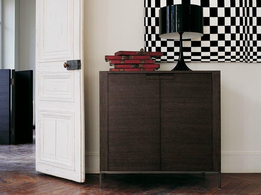 Wooden highboard with doors TITANES | Highboard by Maxalto