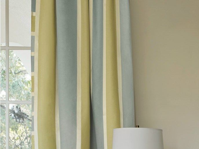Striped fabric SOHO STRIPE   Fabric for curtains by Zimmer + Rohde