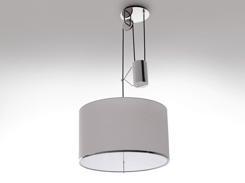 Fabric pendant lamp LEUKON   Pendant lamp by Maxalto
