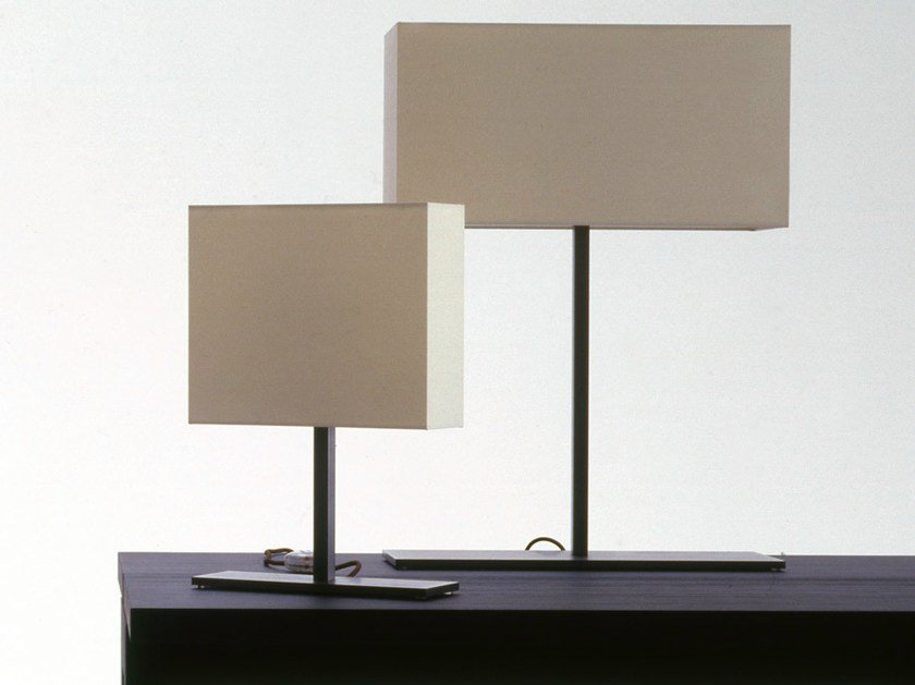Fabric table lamp LEUKON | Table lamp by Maxalto