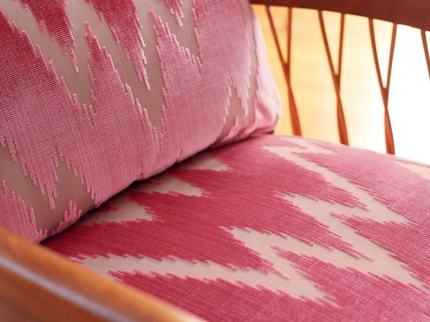 Cupro upholstery fabric VELVET FLAME by Zimmer + Rohde