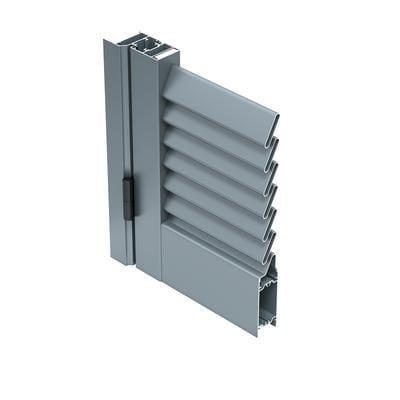 Aluminium shutter 45 P by ALUK Group