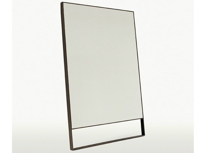 Freestanding rectangular mirror PSICHE by Maxalto