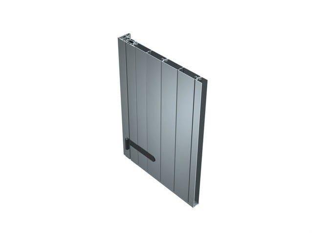 Aluminium panel shutter SV 30 by ALUK Group