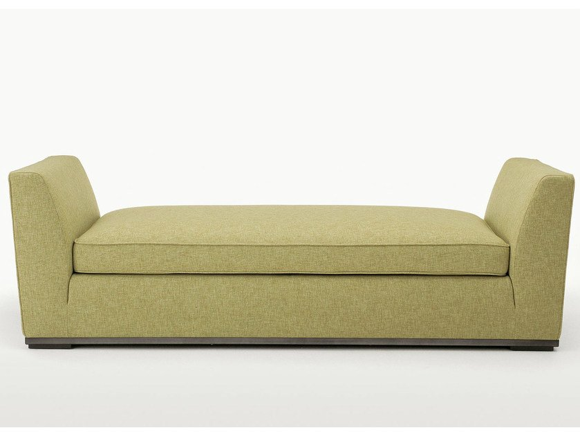 Upholstered fabric day bed INTERVALLUM | Day bed by Maxalto