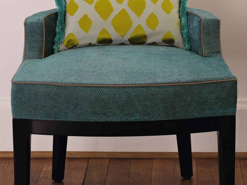 Solid-color chenille fabric AMARO | Upholstery fabric by Zimmer + Rohde