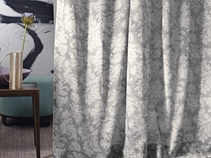 Polyester fabric with floral pattern TADI by Zimmer + Rohde