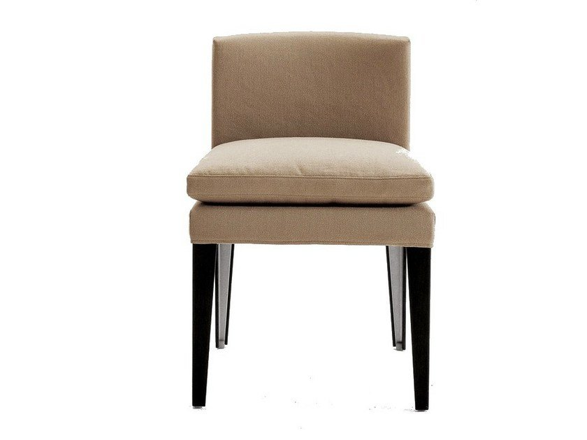 Upholstered fabric chair EUNICE   Fabric chair by Maxalto