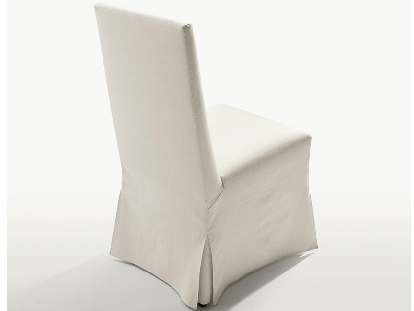 Upholstered fabric chair PEPLO | Chair by Maxalto