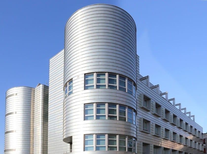 Continuous metal laminate for facade ZINTEK® | Continuous metal laminate for facade by ZINTEK